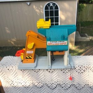Vintage Fisher Price Lift And Load Play Depot